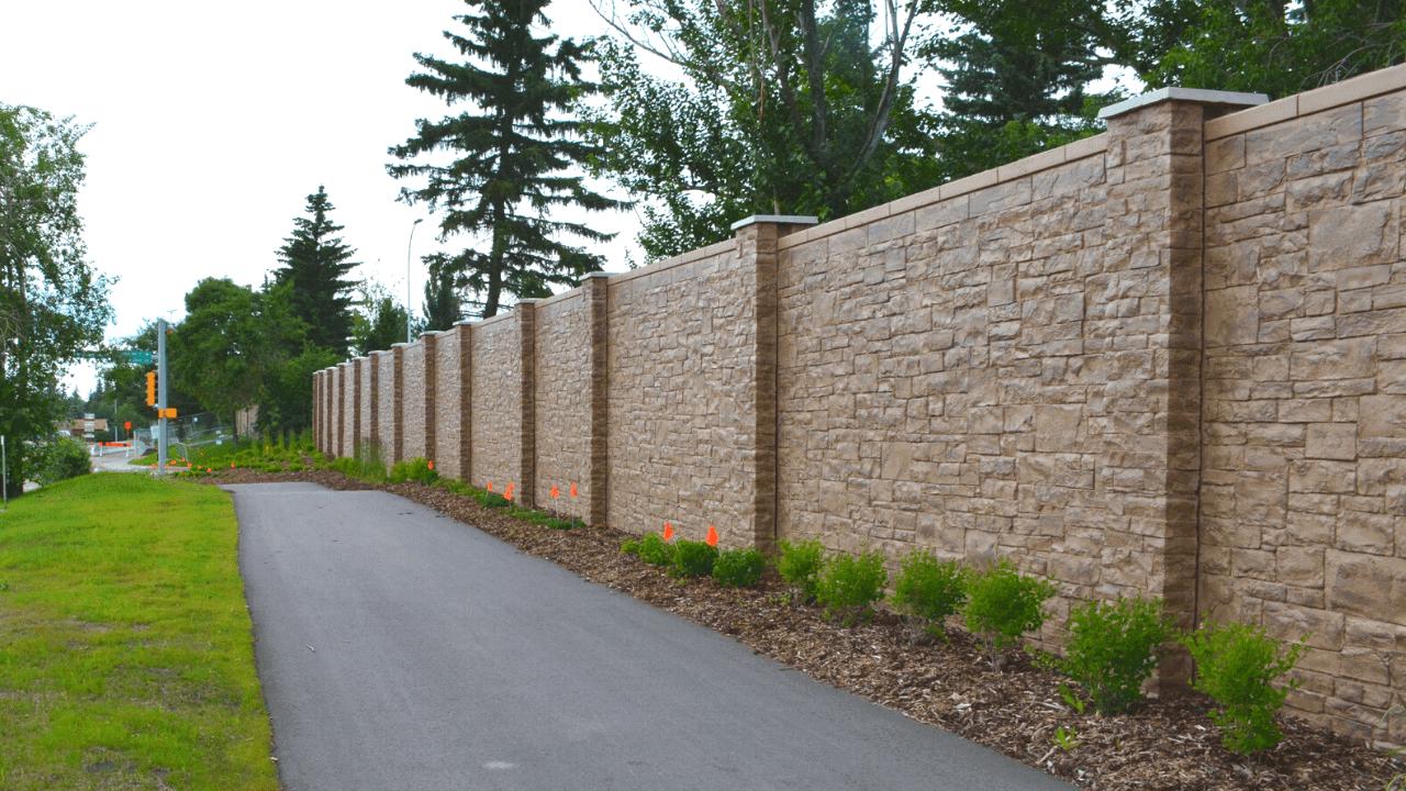 St Albert Barrier Wall Replacement