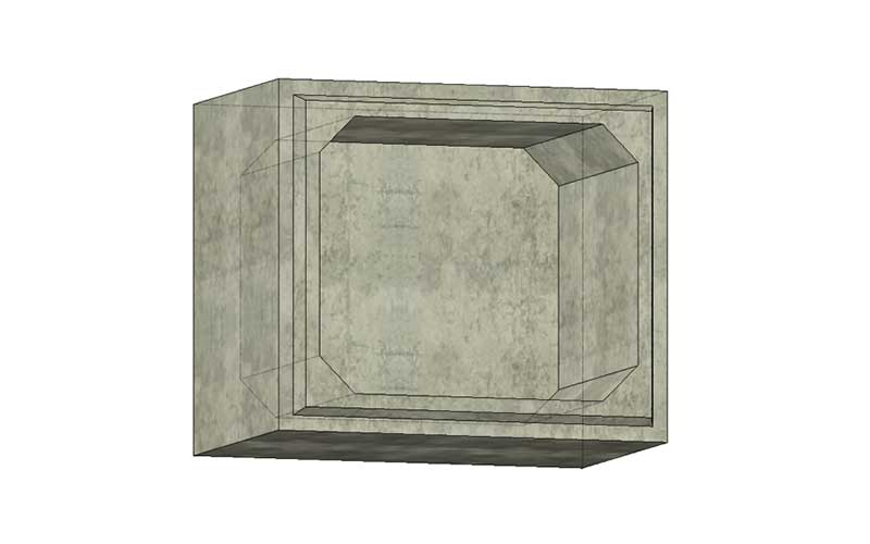 1800mmx1500mm Box Section w/ Monolithic Floor