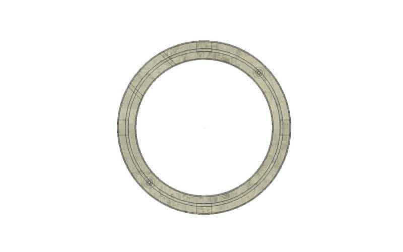 900mmx0.150m Grade Ring