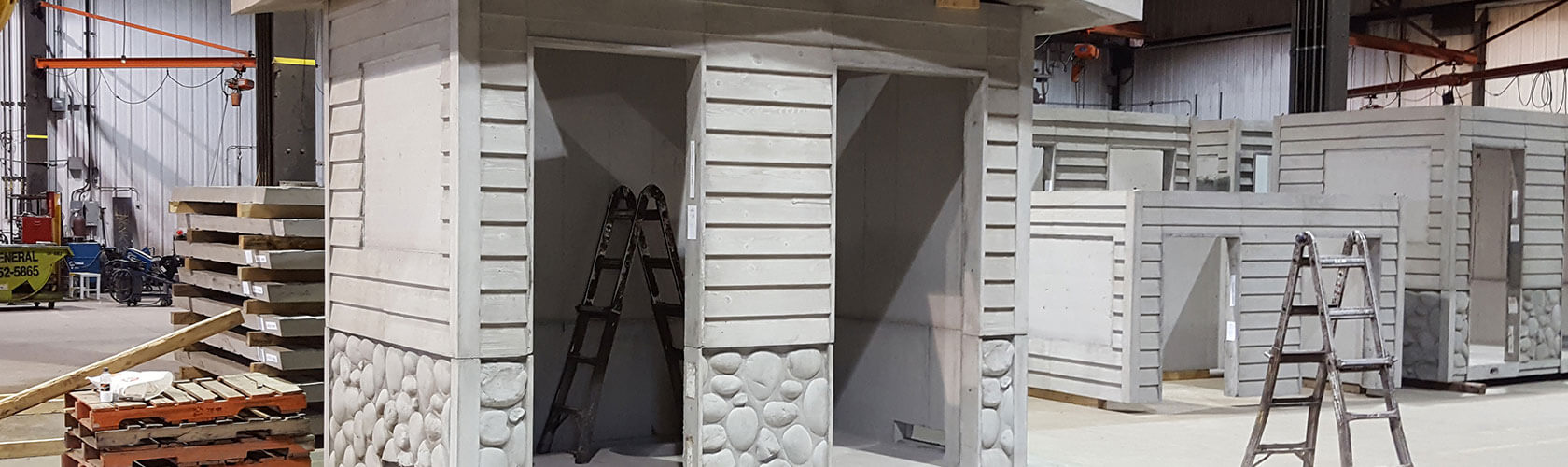 Precast Concrete Washrooms