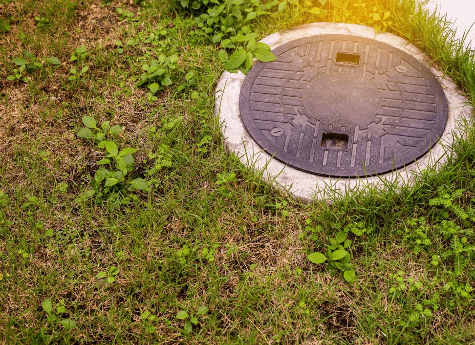 Sewage treatment plant diagram at Tanks-A-Lot, Sherwood Park
